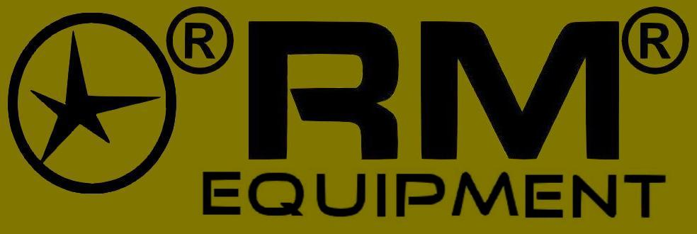 RM Equipment logo - RM Equipment makes the M203grip.